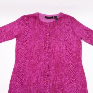 Express Sweaters - Express World Brand long sleeve pink button down